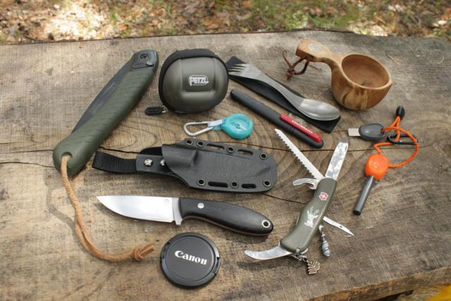 Ножи на рыбалке и в походе ганза