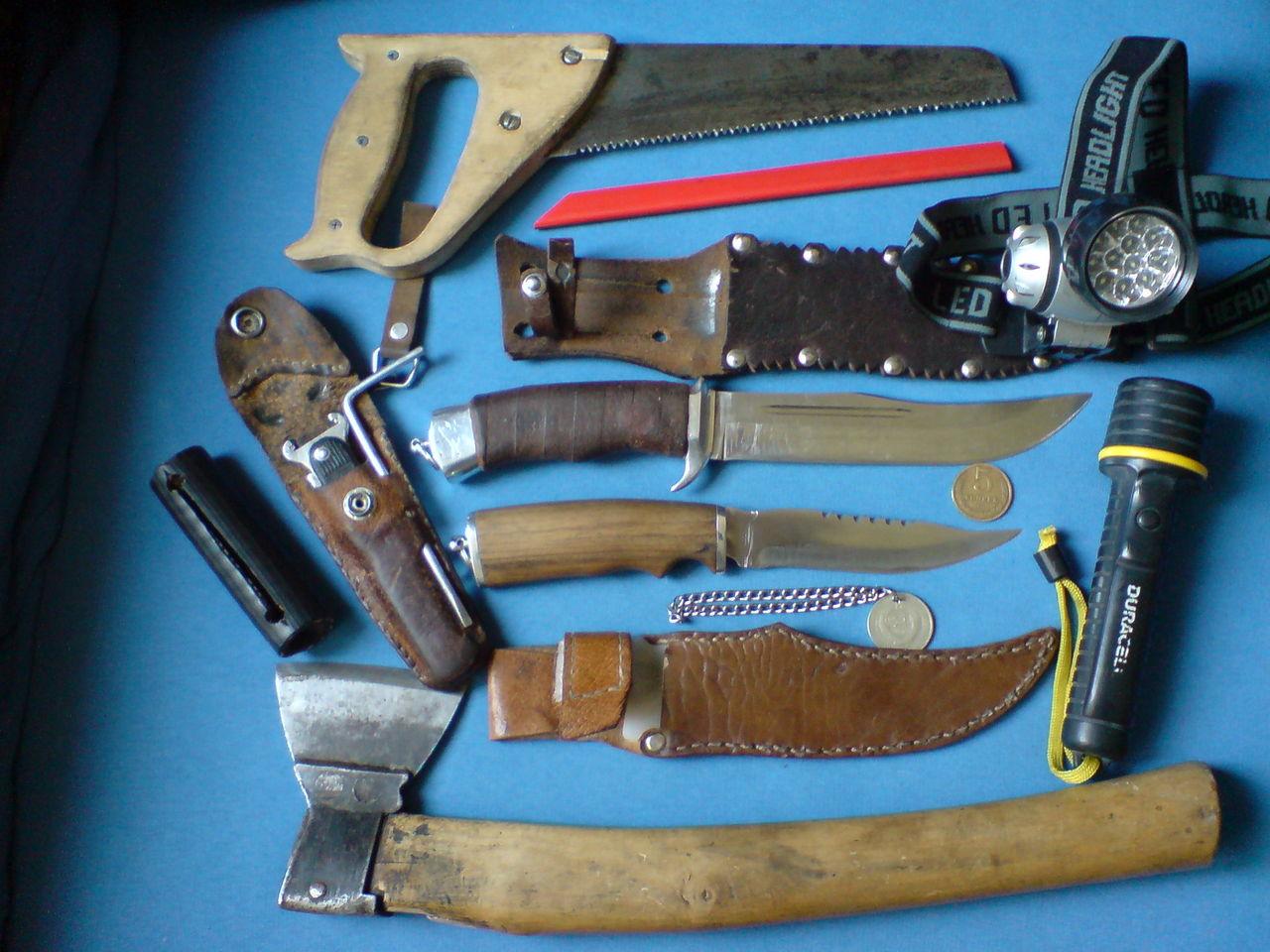 Нож в поход своими руками