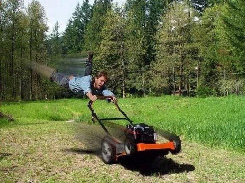 небольшого картинки про газонокосильщика желать