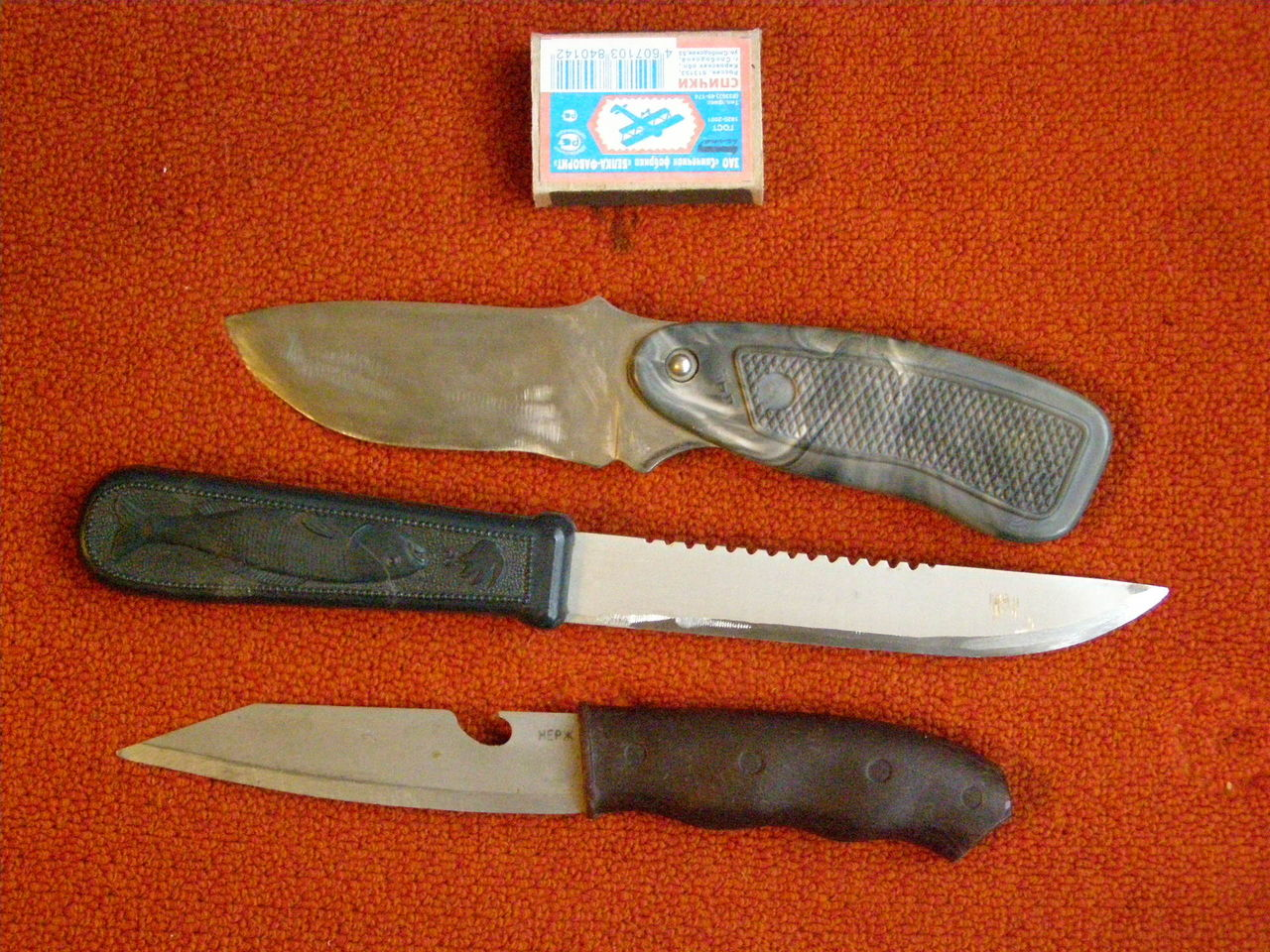 разделочные ножи для рыбака