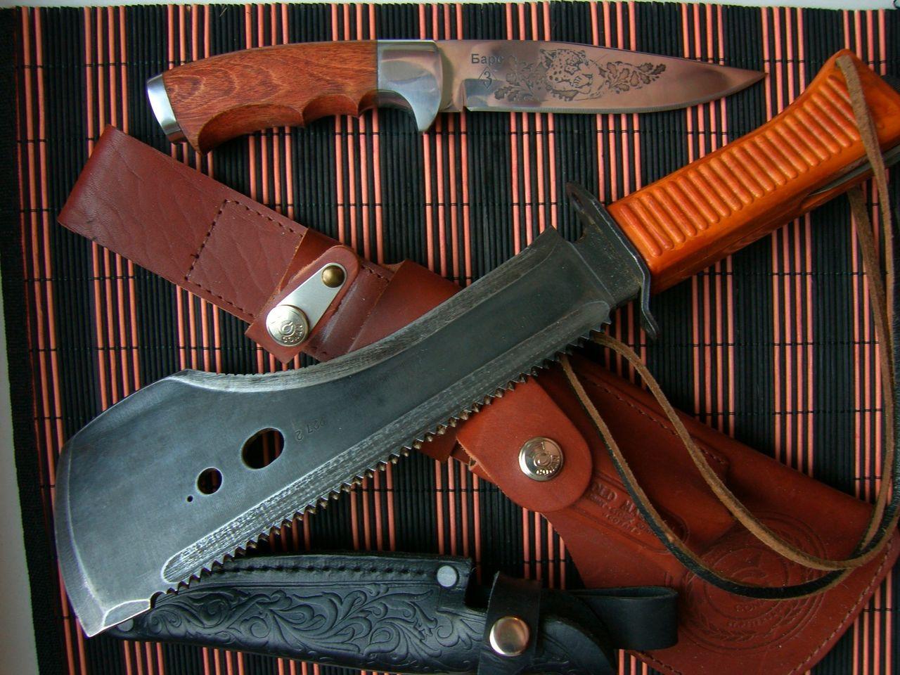 Многофункциональные ножи для выживания своими руками 28
