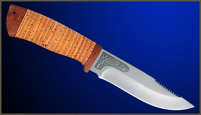 Рукоятки для ножей своими руками из бересты