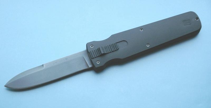 Нож с фронтальным выбросом своими руками
