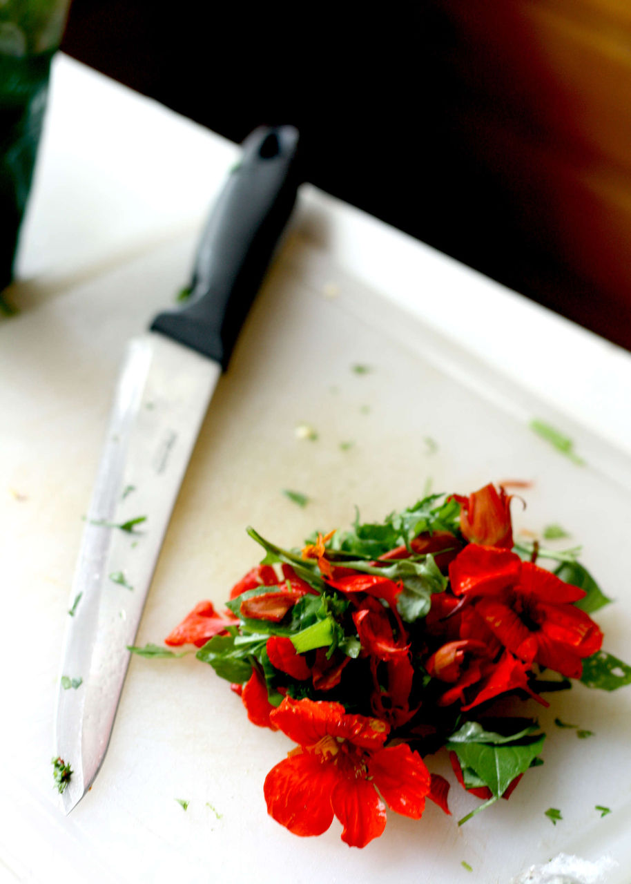Картинки цветок и нож 5