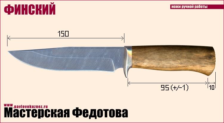 Охотничьи ножи своими руками фото чертежи с размерами
