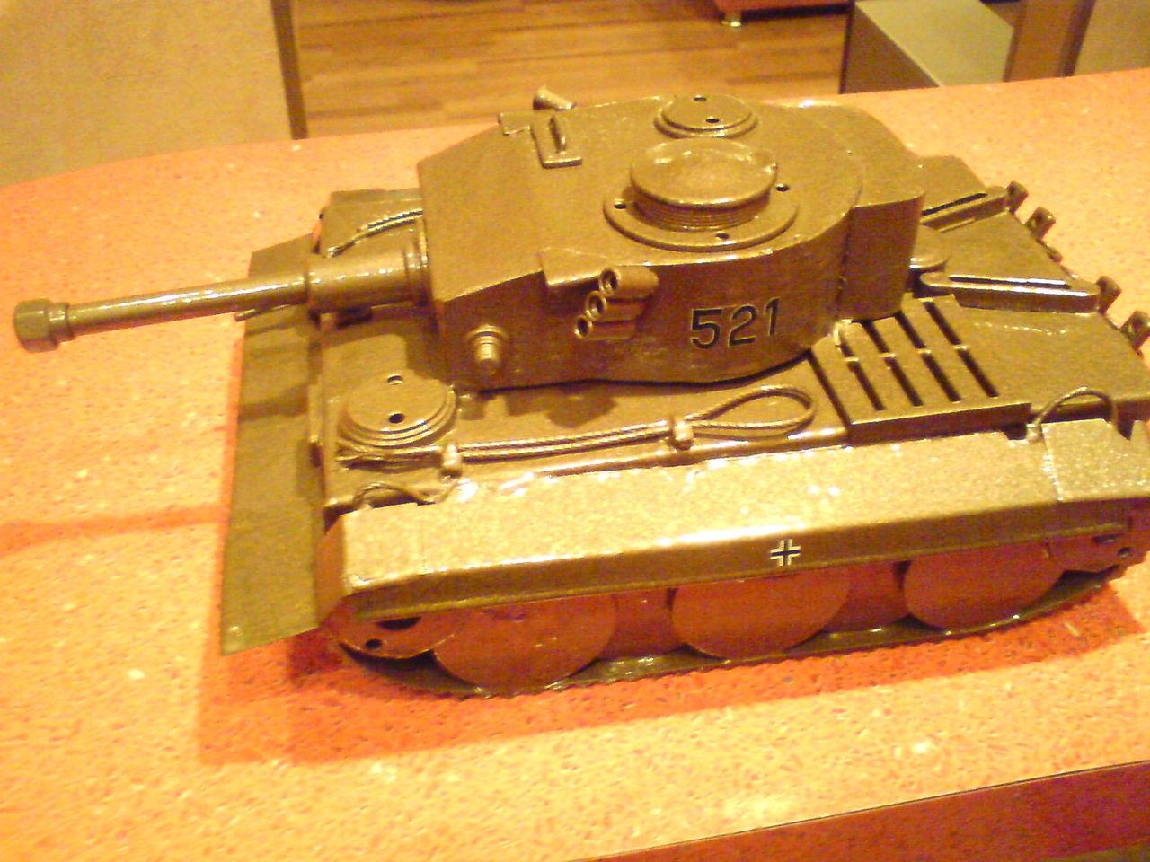 инструкция для соборки модели t-vie тигр