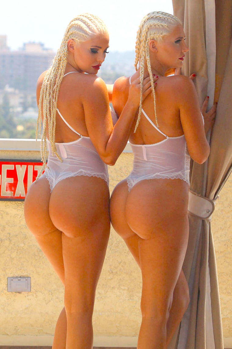 Hot ass twins sex