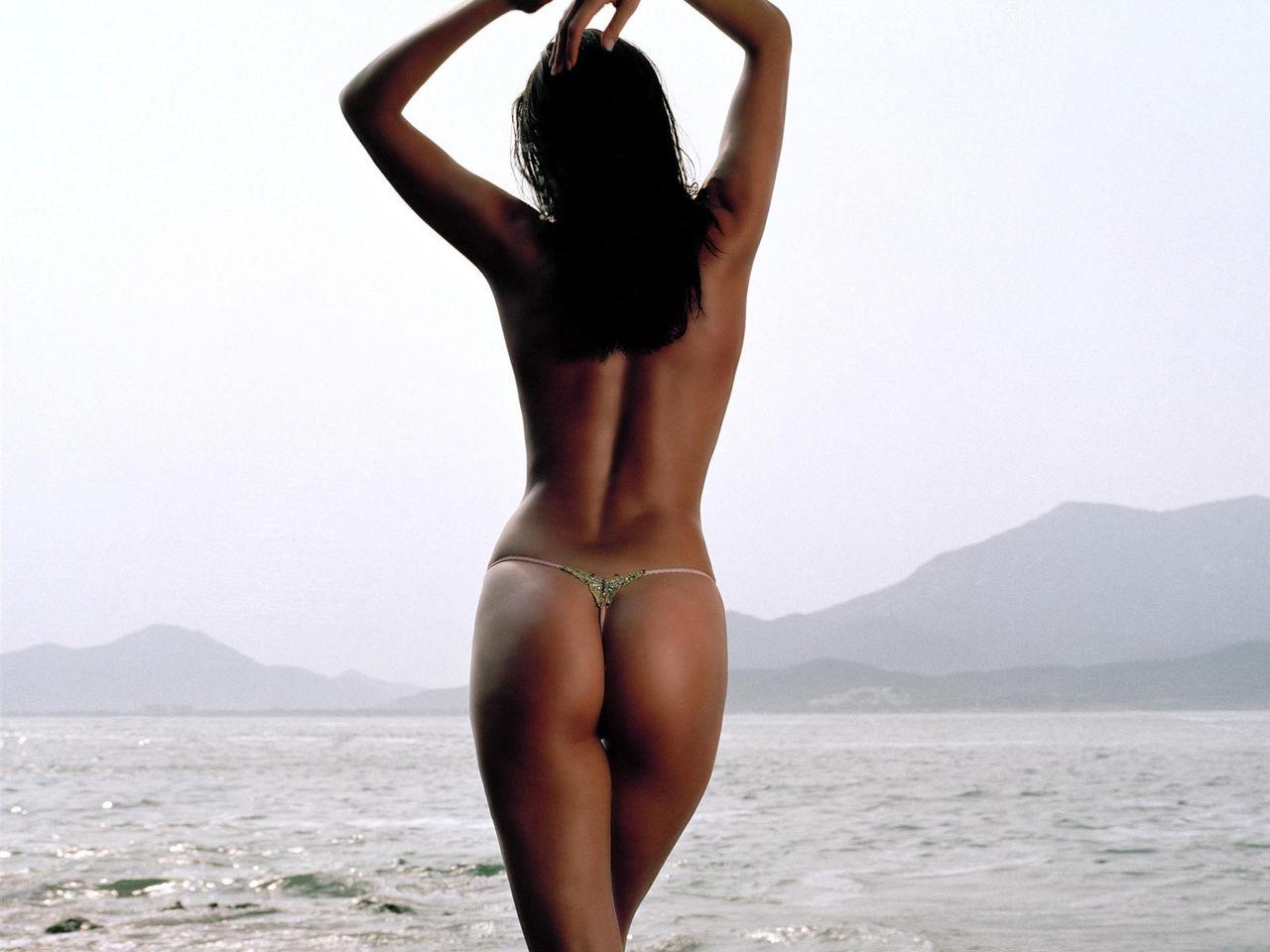 себе красивое тело сзади девушка дама опомниться успела