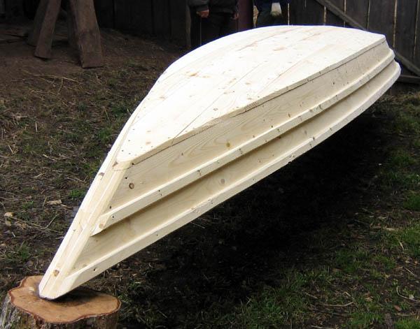 как самому сделать маленькую лодку