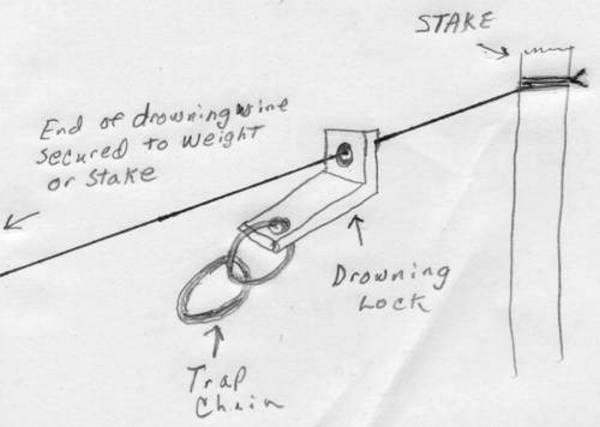 изготовление петель для ловли бобров