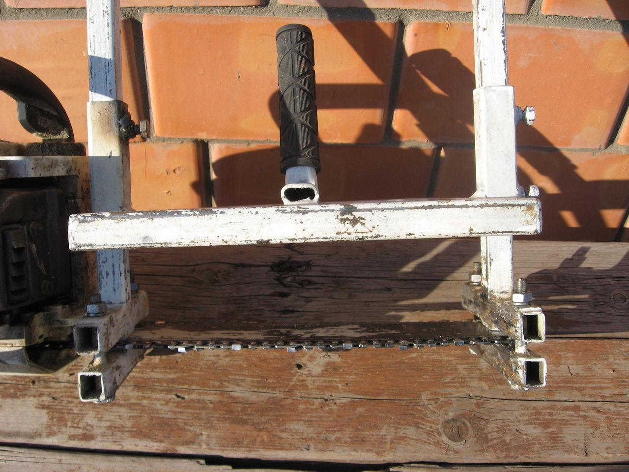 Как из триммера сделать лодочный мотор фото 443