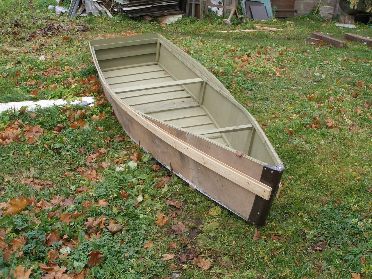 Хотите собрать лодку плоскодонку своими руками