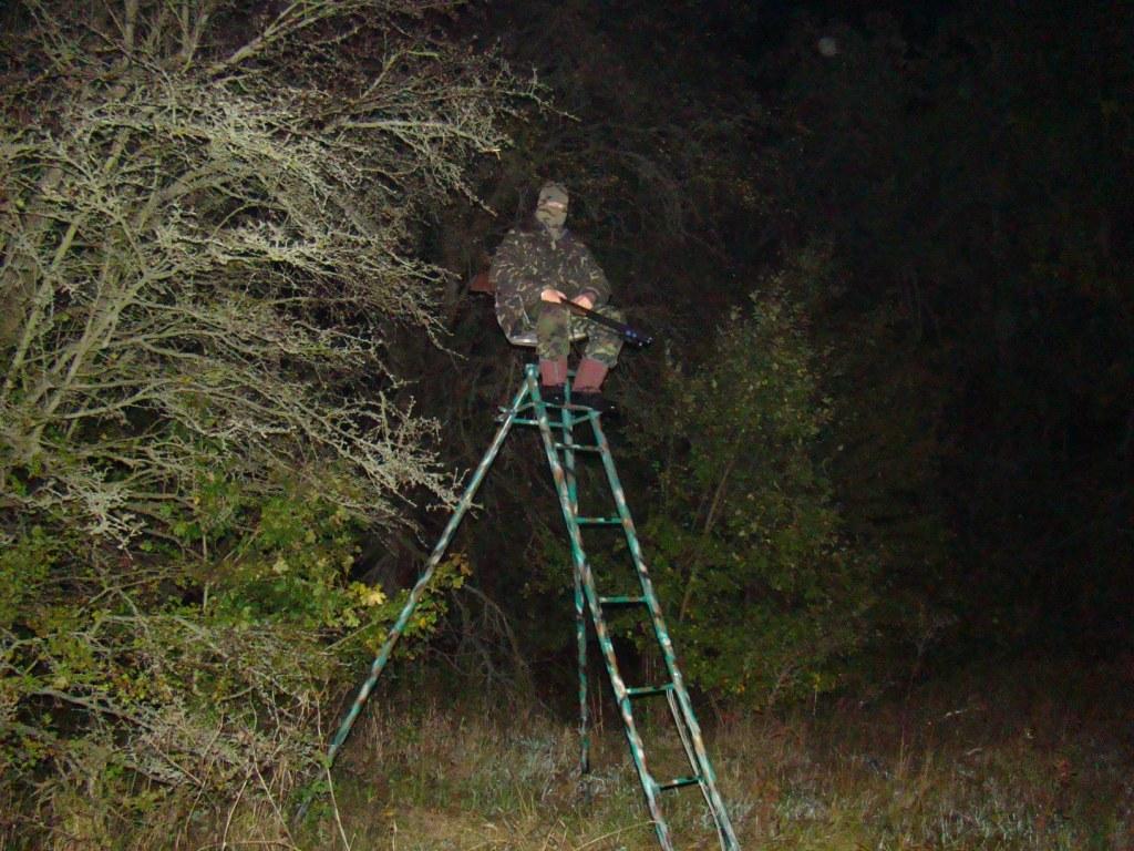 Лабаз для охоты самодельный 158