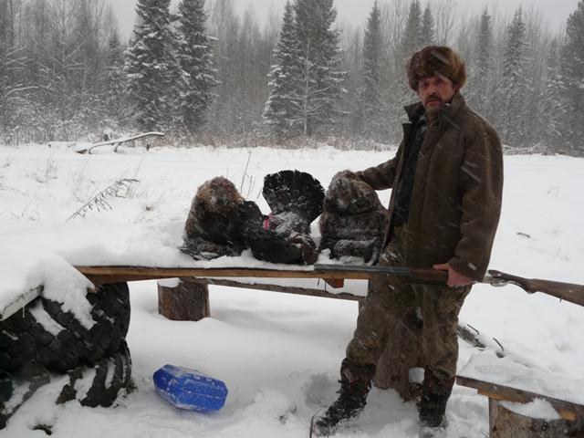Ленские промысловики охотники