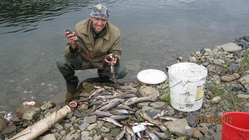 рыбалка в ленске