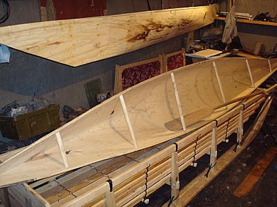 Как сделать деревянную плоскодонку 148