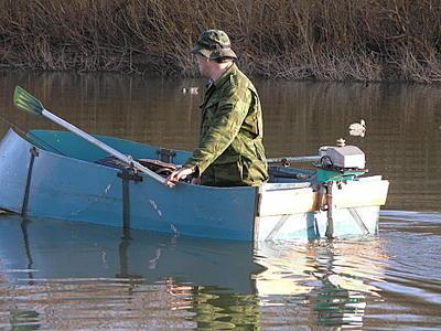 Pancho : Лодки: плоскодонки, шитики, долбленки :) : Охота глазами участника