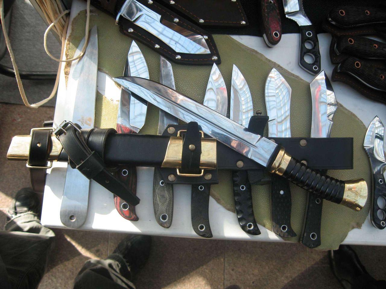 Пластунский нож своими руками 192