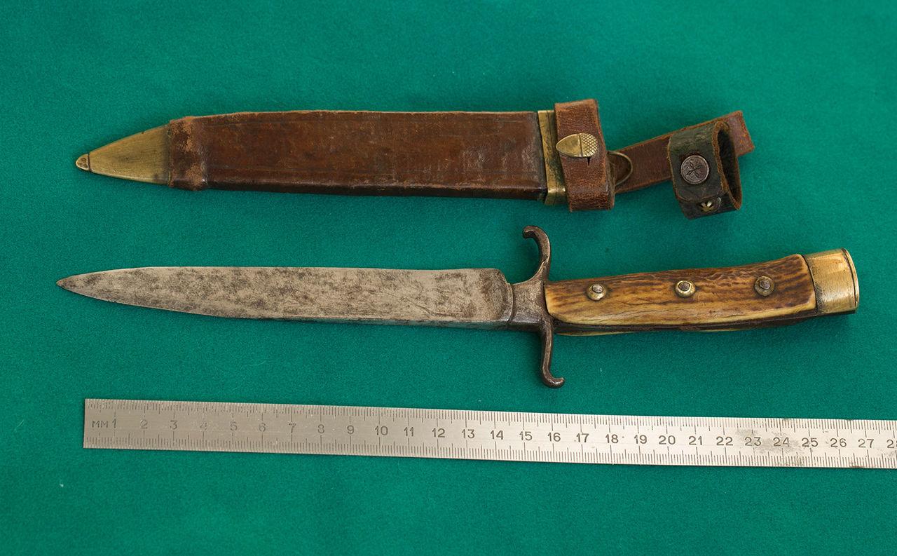 Никер - традиционный немецкий охотничий ножик клинок магазин ножей boker plus kalashnikov 74 auto