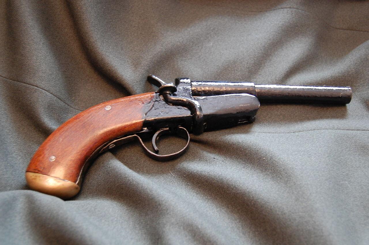 Как сделать двухствольный ружье