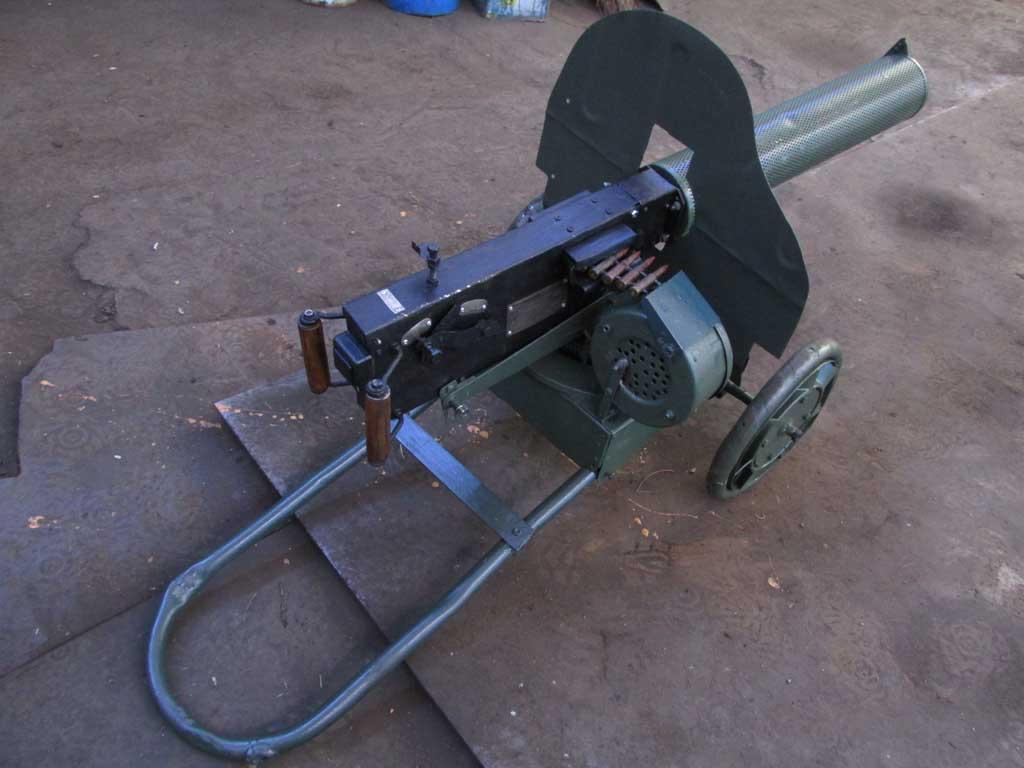Макет пулемёта максим своими руками