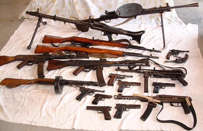 смотреть стрелковое оружие второй мировой войны видео лежала