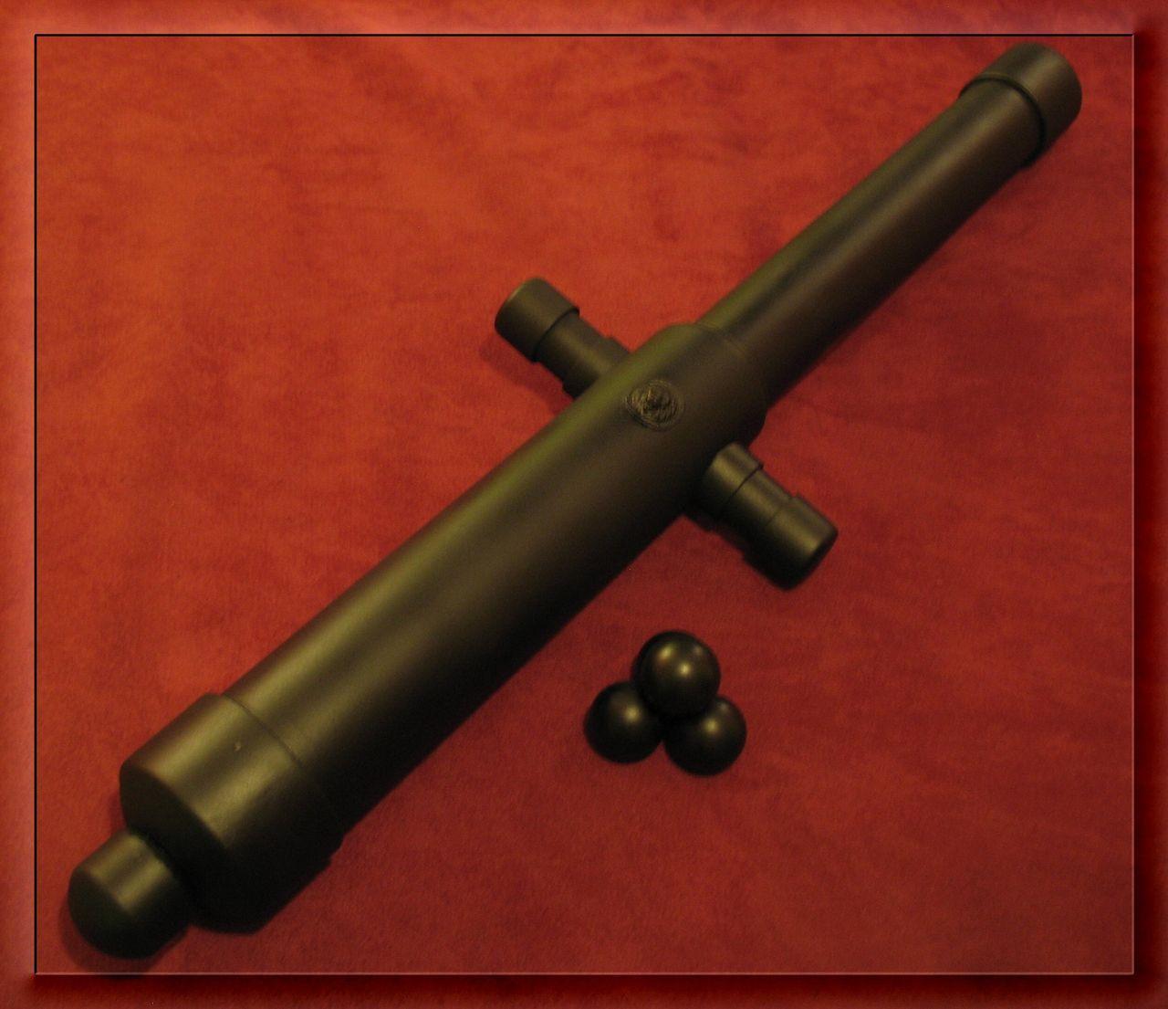 Как сделать макет пушки своими руками