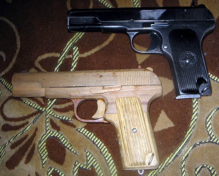 Как сделать макет пистолета макарова