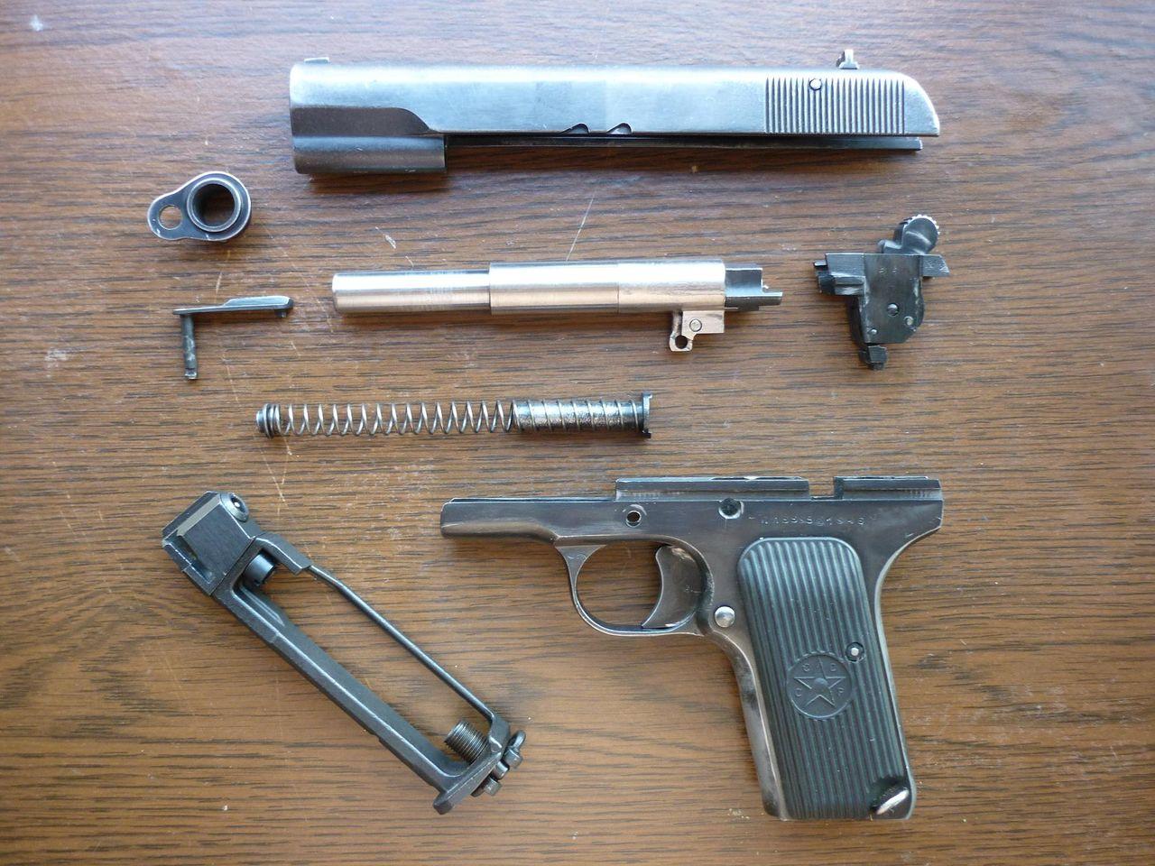 Переделка пневматического пистолета (МР-654К) в боевой 51