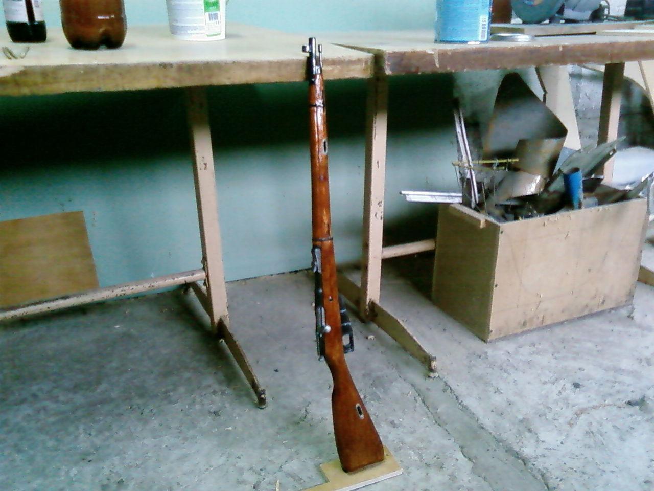 Изготовление макетов оружия своими руками