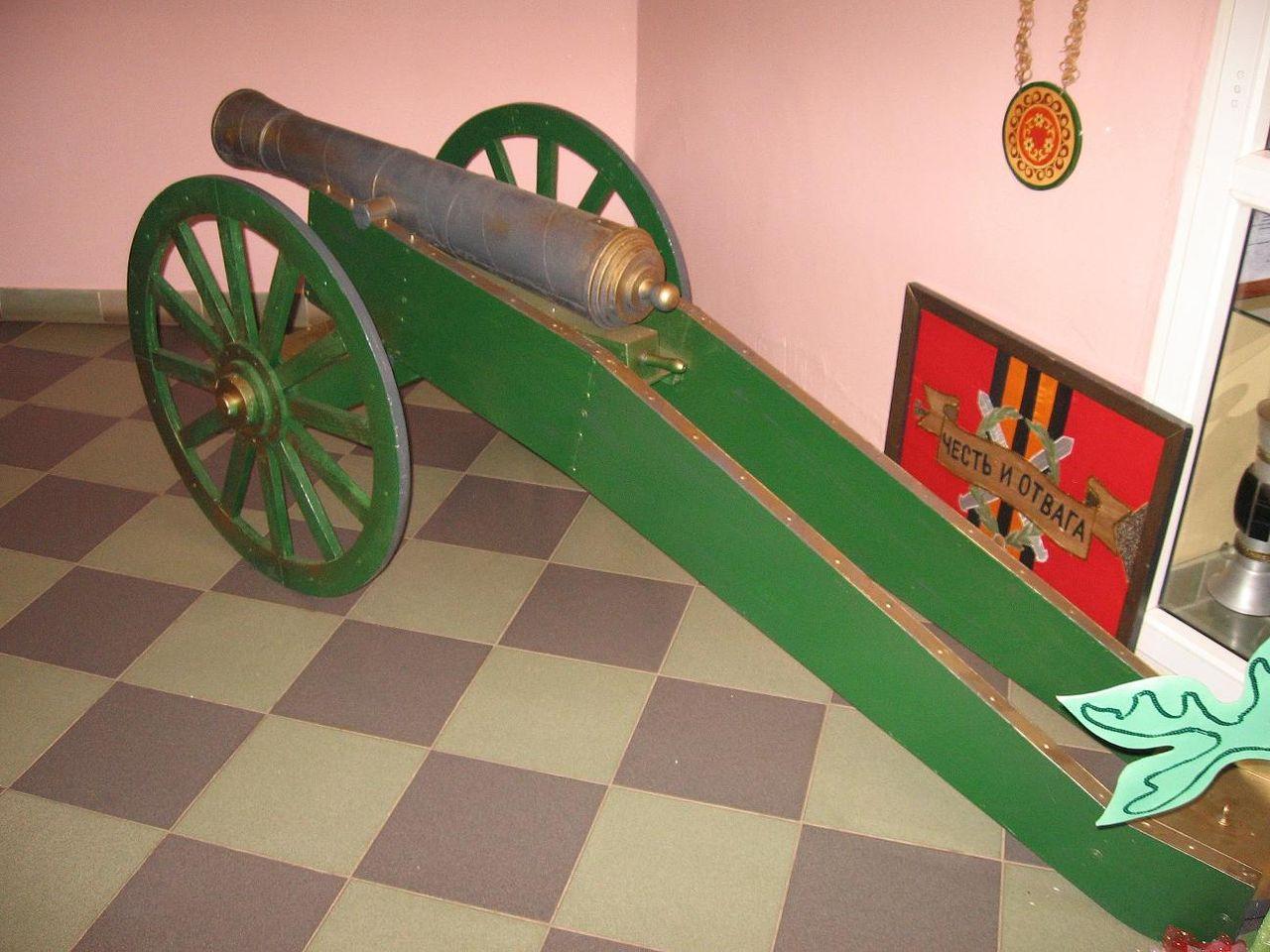 Пушки 1812 своими руками