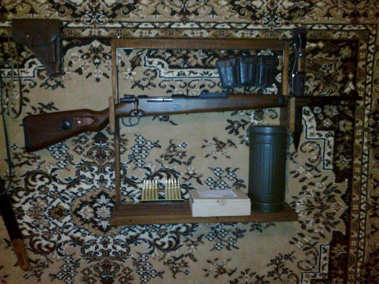 ружье на стене фото