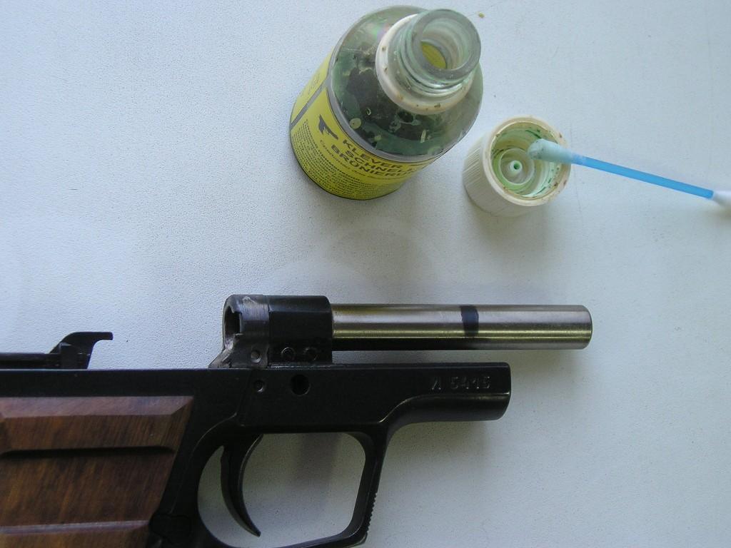Воронение ствола в домашних условиях