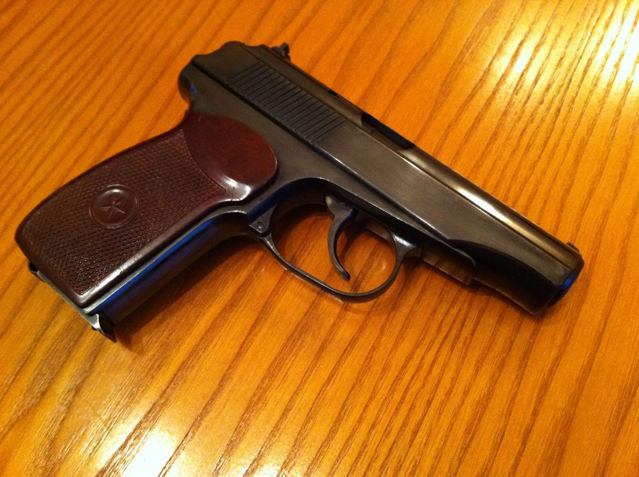 Заводское воронение в домашних условиях - 2. * Популярное оружие