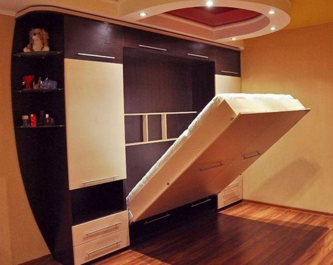 Как своими руками сделать кровать шкаф для ребенка.