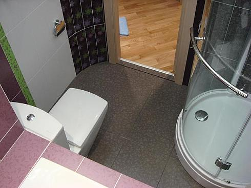 ванна с круглым углом фото
