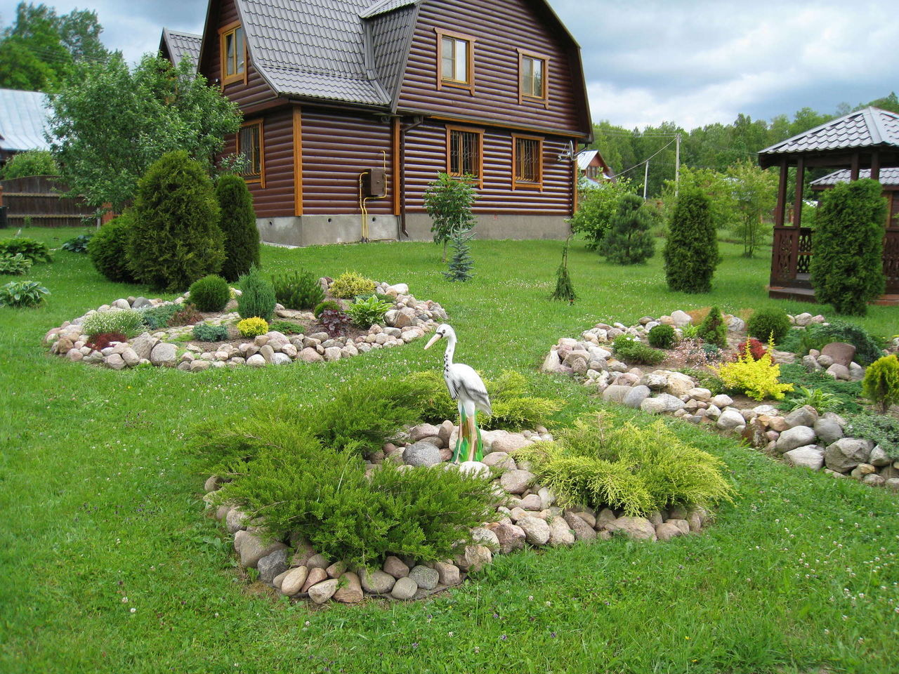 Дизайн и оформление садового участка