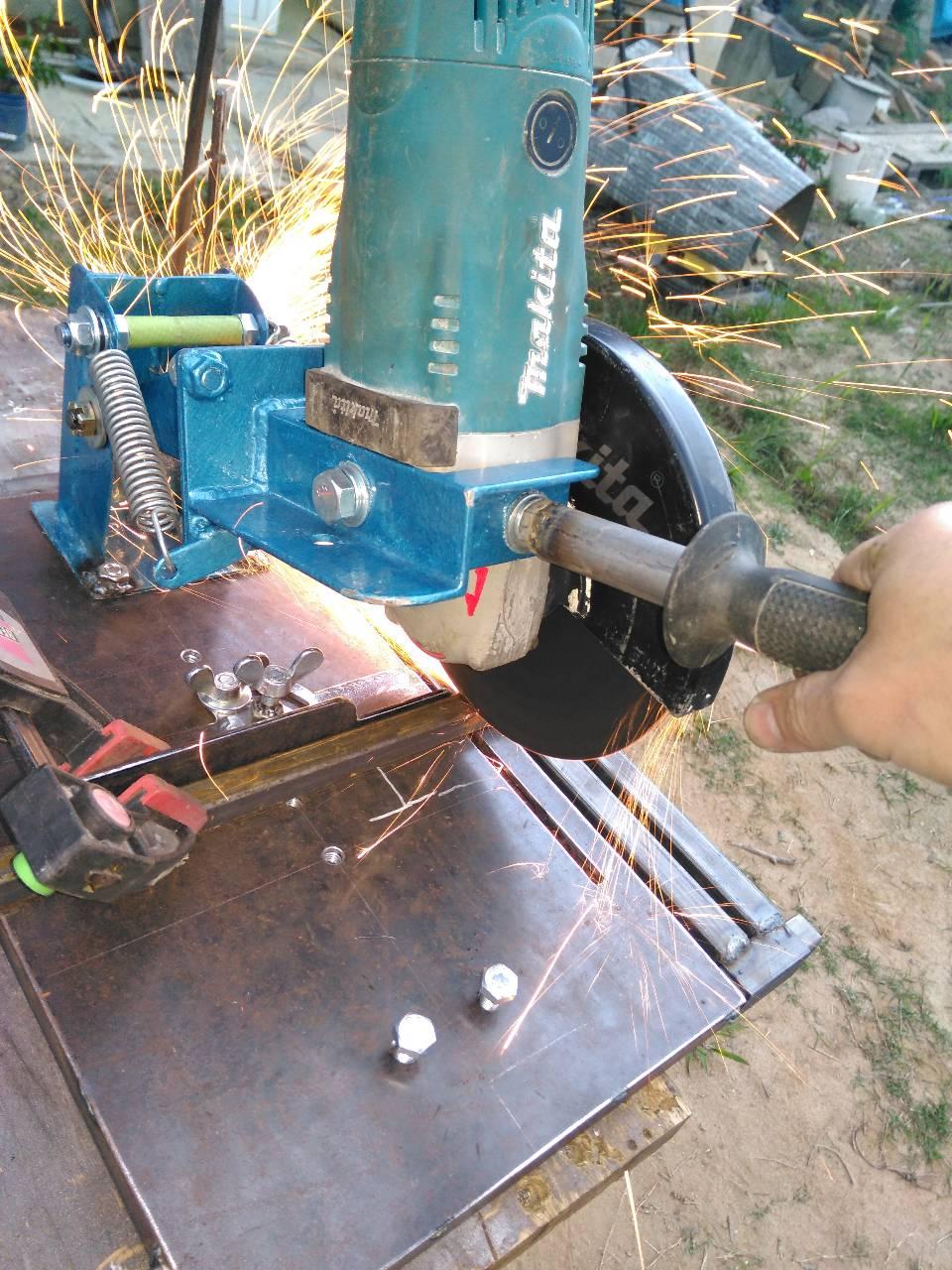 Механический (пружинный) дровокол своими руками: чертежи 37