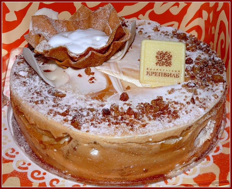 Торт крепвиль французский