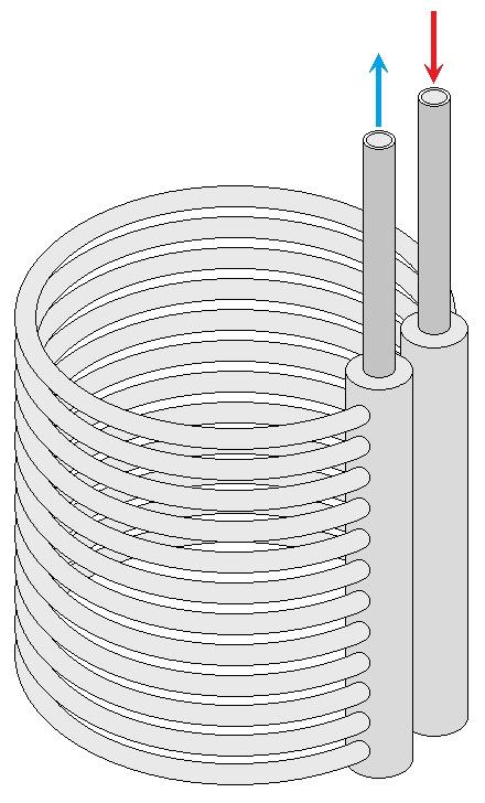 Грунтовый воздушный теплообменник