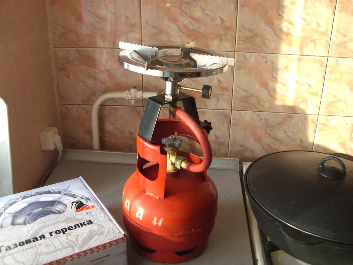 Как сделать мощную газовую горелку