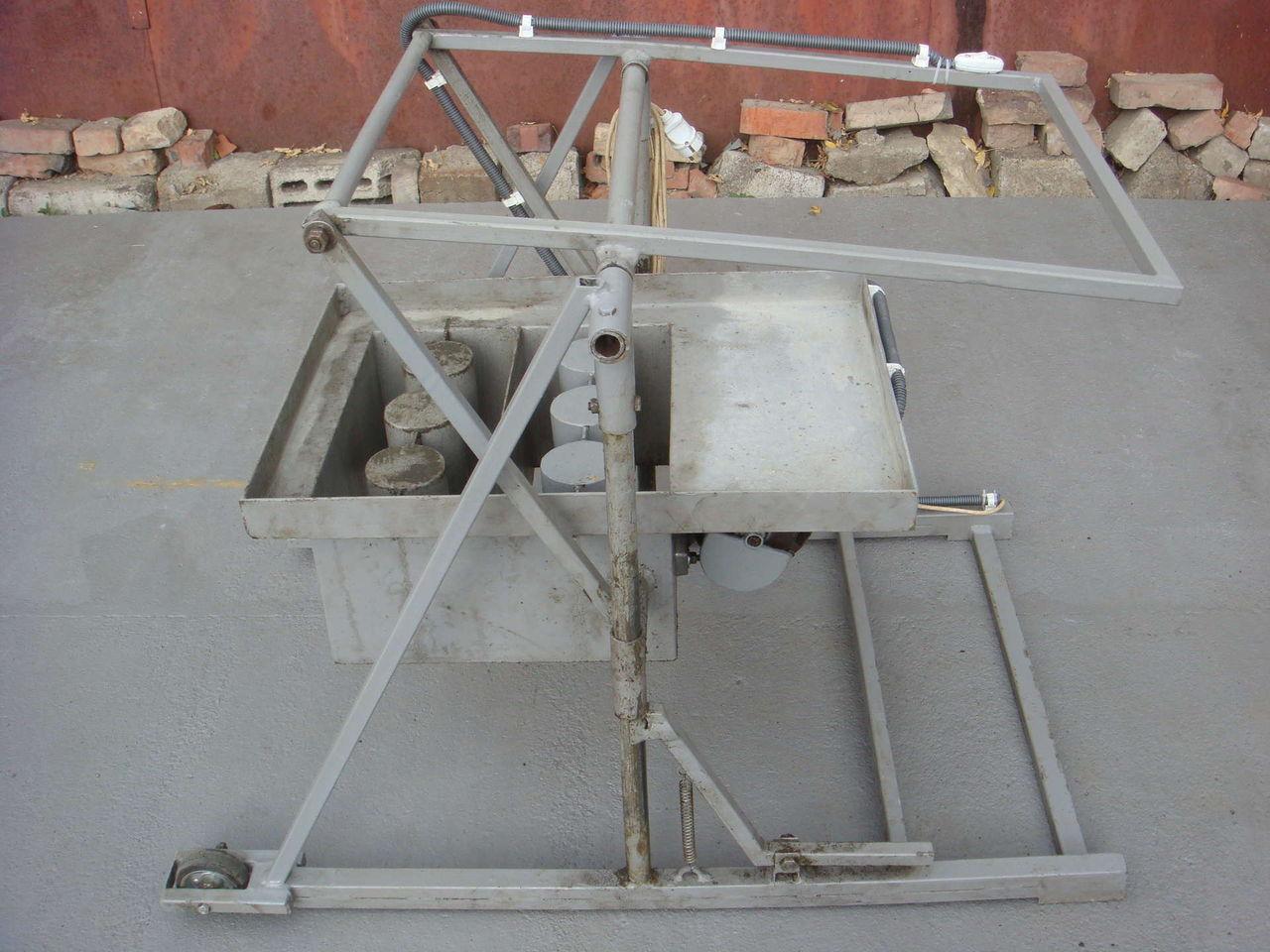 Стеновые блоки своими руками оборудование