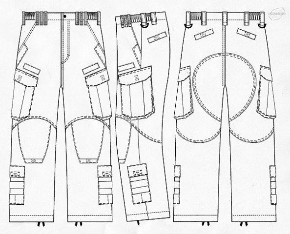 Тактические брюки своими руками 50
