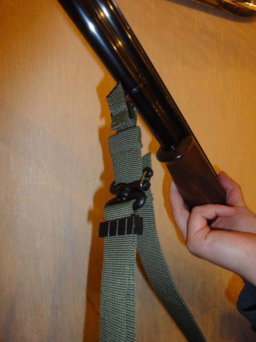 Трехточечный ремень зубр для ружья своими руками 69