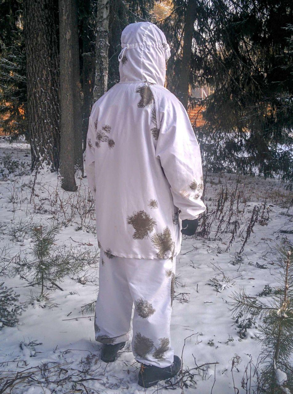 Из чего сшить маскхалат зимний