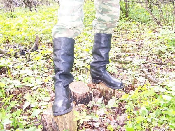 Солдатские сапоги 1