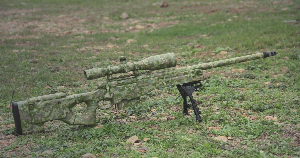 Снайперской винтовки и как ее сделать 780