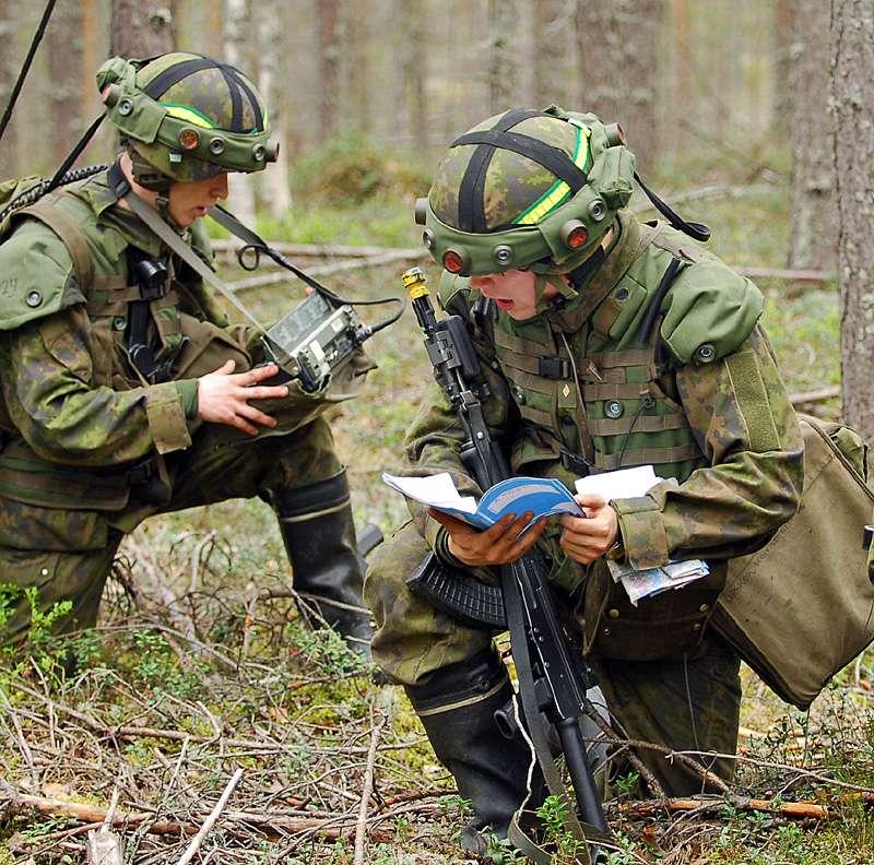 фото военных финляндии чем выше