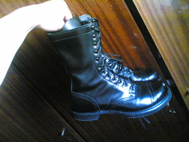 ботинки юфть темп 2