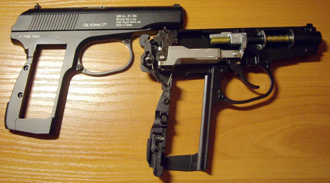пистолет пневматический smersh h50 макаров схема сборки
